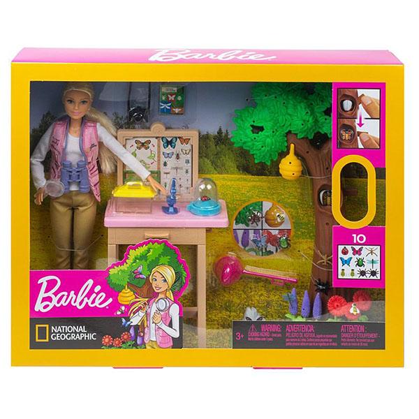 Mattel Barbie GDM49 Барби Nat Geo Исследователь бабочек