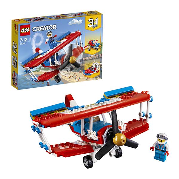 Lego Creator 31076 Конструктор Лего Криэйтор Самолёт для крутых трюков конструктор lego creator самолёт для крутых трюков 200 элементов 31076