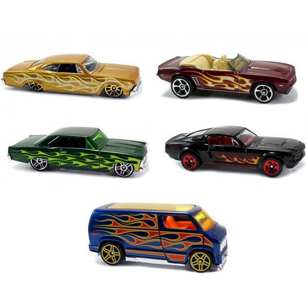 Mattel Hot Wheels 1806 Хот Вилс Подарочный набор из пяти машинок (в ассортименте) hot wheels 1806 подарочный набор из 5 машинок hw street beasts
