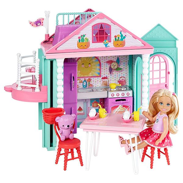 Mattel Barbie DWJ50 Барби Домик Челси mattel кукла челси barbie