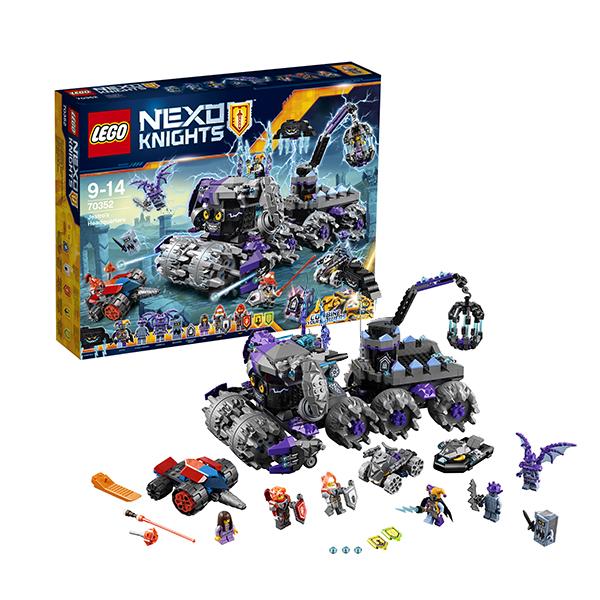 Lego Nexo Knights 70352 Лего Нексо Штурмовой разрушитель Джестро lego джестро мобиль 70316