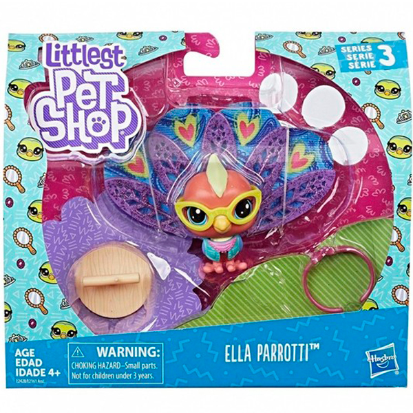 Hasbro Littlest Pet Shop E2161 Литлс Пет Шоп Премиум Петы