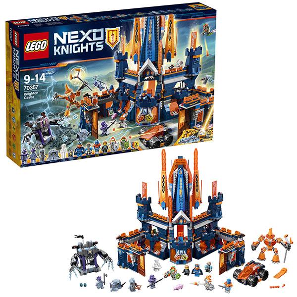 Lego Nexo Knights 70357 Конструктор Лего Нексо Королевский замок Найтон конструктор lego nexo knights 70357 королевский замок найтон