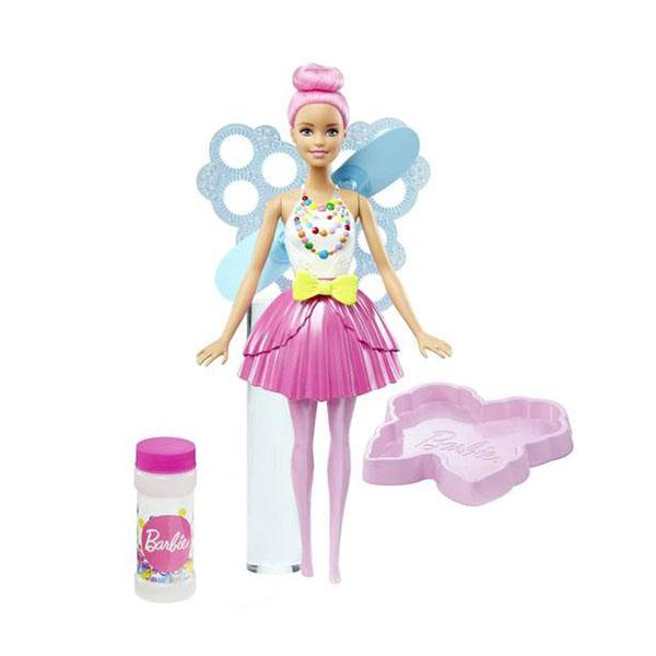 Mattel Barbie DVM95 Барби Феи с волшебными пузырьками Стильная кукла barbie mattel barbie радужная принцесса с волшебными волосами в ассортименте dpp90