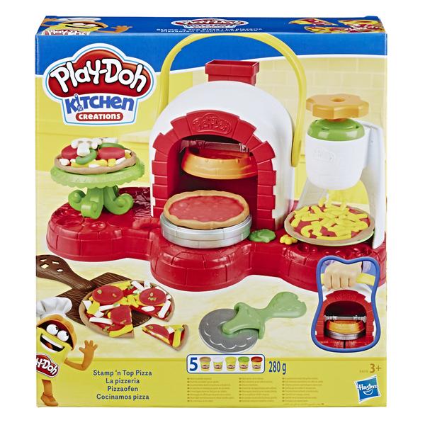 """Hasbro Play-Doh E4576 Игровой набор масса для лепки """"Печем Пиццу"""""""