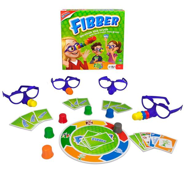 Spin Master Fibber 34545 Настольная игра Фиббер настольная игра развивающая spin master fibber 34545
