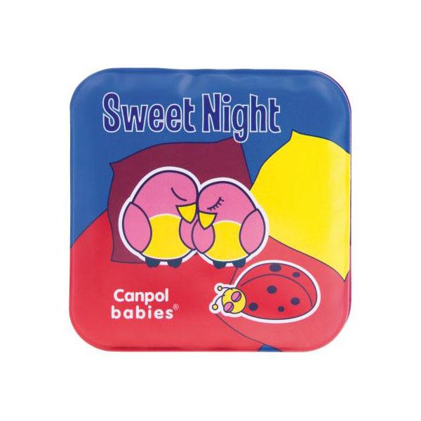 Canpol babies 250915020 Книжка мягкая с пищалкой, Day & Night, 2 шт, 6м+