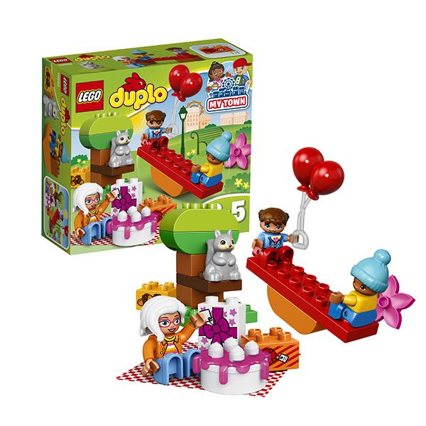 Lego Duplo 10832 Конструктор Лего Дупло День рождения lego lego duplo 10826 лего дупло стеллосфера майлза