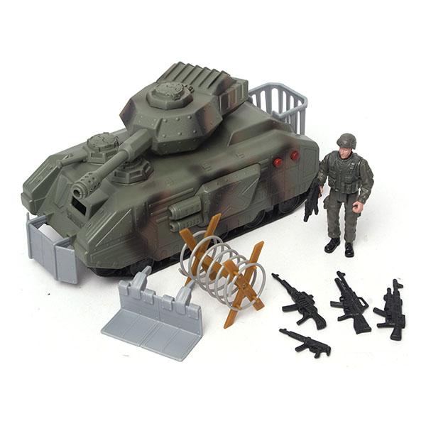 Boley 31297 Военные 2 набора: танк с аксессуарами или самолет (в ассортименте) boley игровой набор инструментов 7 шт boley
