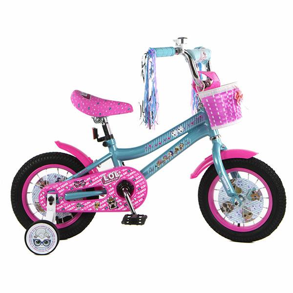1toy Самокаты BH12180 Детский велосипед LOL, колеса 12