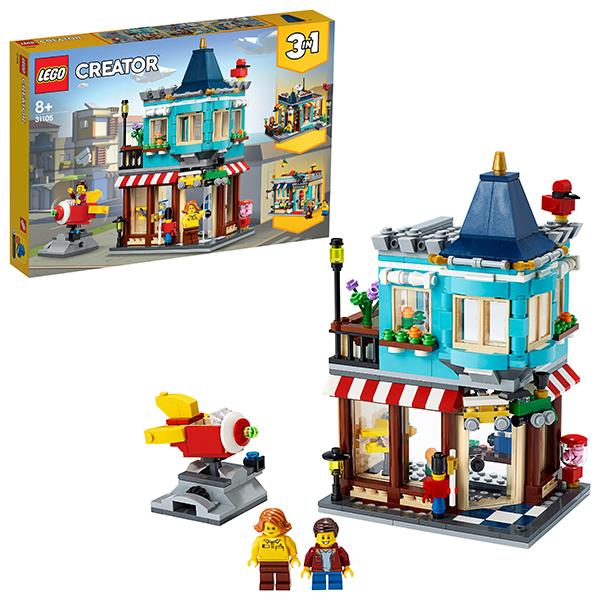 LEGO Creator 31105 Конструктор ЛЕГО Криэйтор Городской магазин игрушек