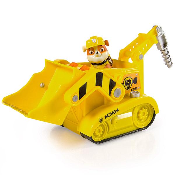 Paw Patrol 16637-y Щенячий патруль Большой автомобиль спасателя со звуком и светом (Крепыш) spin master большой автомобиль спасателей экскаватор крепыша щенячий патруль