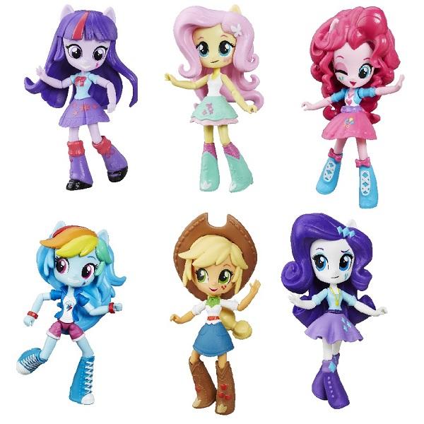 Hasbro My Little Pony B4903 Equestria Girls мини-кукла (в ассортименте) my little pony equestria girls мини кукла roseluck