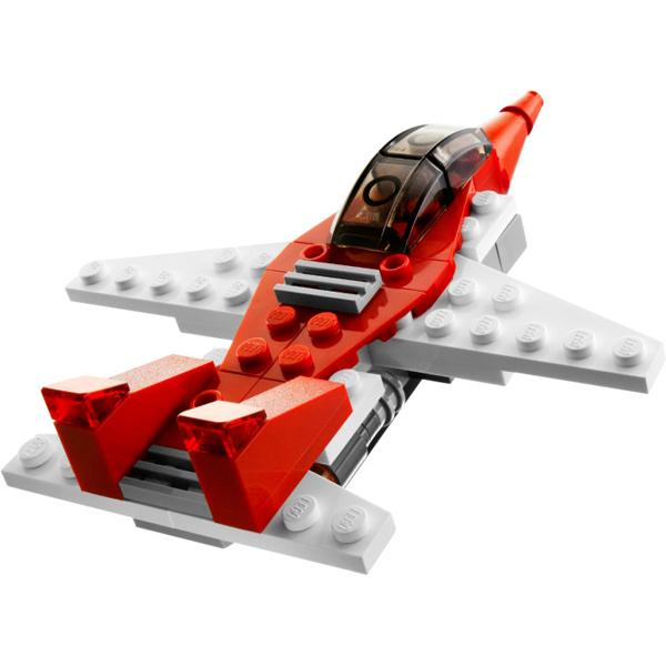 Конструктор Лего Криэйтор 6741 Конструктор Мини ракета