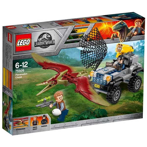 LEGO Jurassic World 75926 Конструктор ЛЕГО Мир Юрского Периода Погоня за птеранодоном