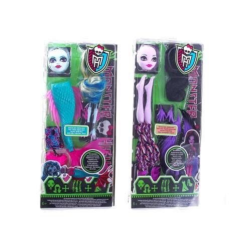 """Mattel Monster High 9175W Школа Монстров Монстр Хай """"Создай свой образ"""" (в ассортименте)"""