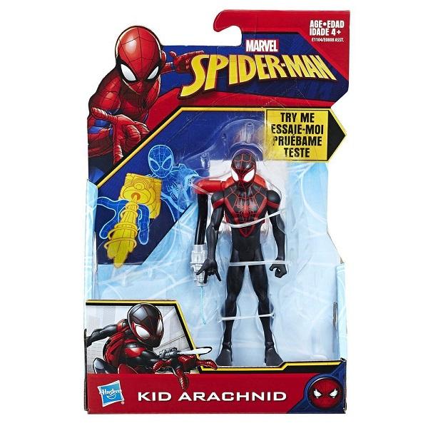 Hasbro Spider-Man E0808/E1104 Кид Арахнид с аксессуарами
