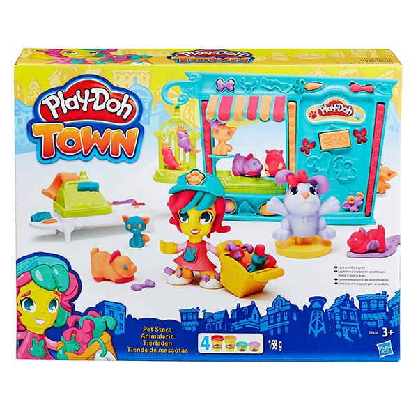 Hasbro Play-Doh B3418 Игровой набор Магазинчик домашних питомцев всё для лепки play doh игровой набор город магазинчик домашних питомцев