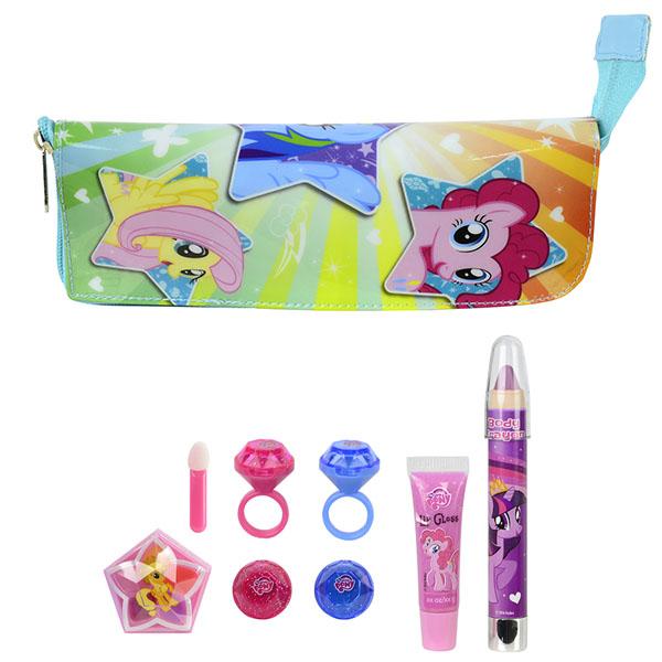 Markwins 9711151 My Little Pony Игровой набор детской декоративной косметики в пенале