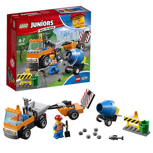 Lego Juniors 10750 Лего Джуниорс Грузовик дорожной службы