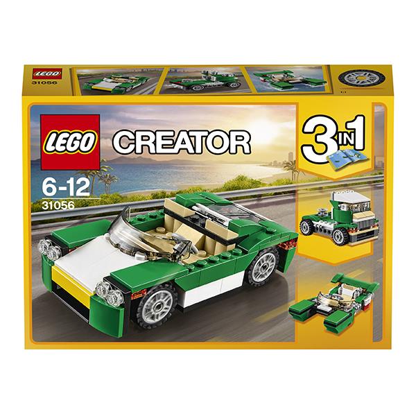 Lego Creator 31056 Конструктор Лего Криэйтор Зелёный кабриолет