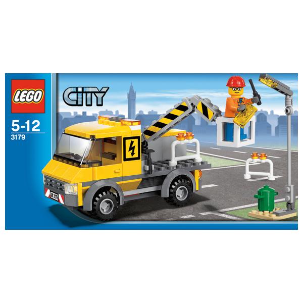 Lego City 3179 Конструктор Лего Город Машина аварийной помощи