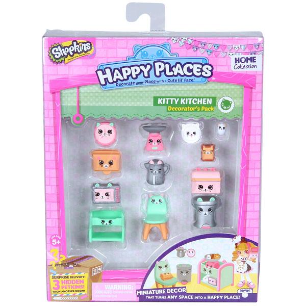 """Happy Places 56379 Игровой набор для декора """"Кухня Китти"""""""