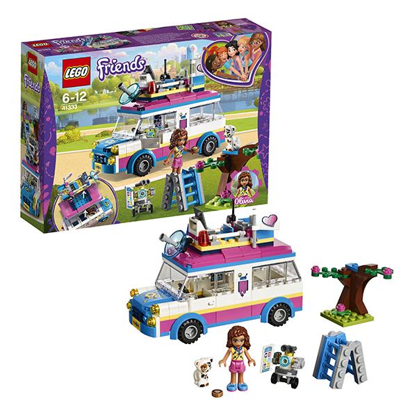 Lego Friends 41333 Конструктор Лего Подружки Передвижная научная лаборатория Оливии lego конструктор подружки спортивный лагерь дом на дереве