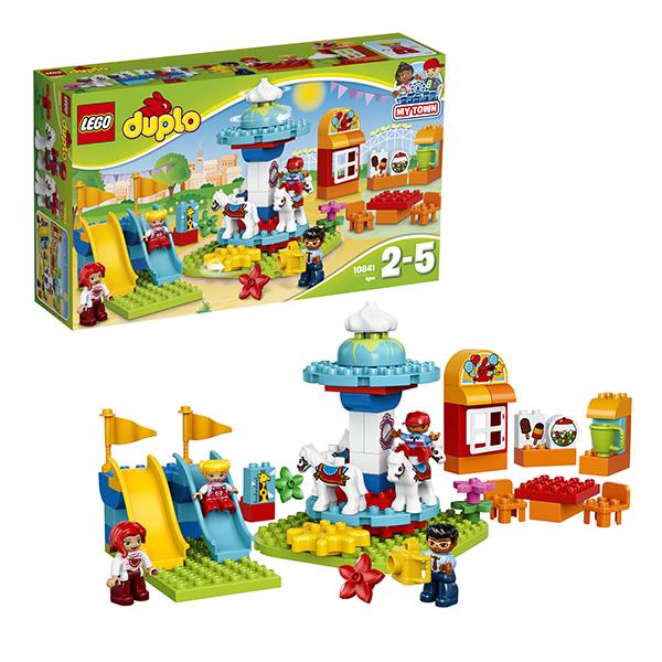 Lego Duplo 10841 Конструктор Лего Дупло Семейный парк аттракционов lego lego duplo 10586 фургон с мороженым