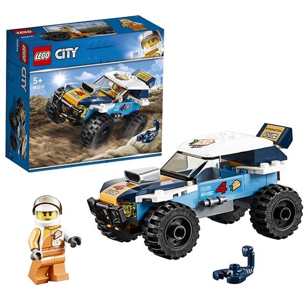 Lego City 60218 Конструктор Лего Город Транспорт: Участник гонки в пустыне lego city 60218 конструктор лего город транспорт участник гонки в пустыне