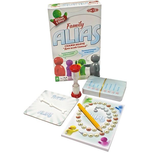 Tactic Games 53374 Настольная игра Скажи Иначе (для всей семьи,компактная версия 2) цена