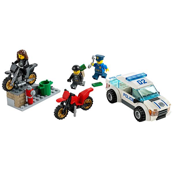 Lego City 60042 Конструктор Лего Город Погоня за воришками-байкерами