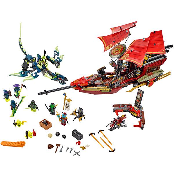 LEGO Ninjago 70738 Конструктор ЛЕГО Ниндзяго Корабль Дар Судьбы - Решающая битва