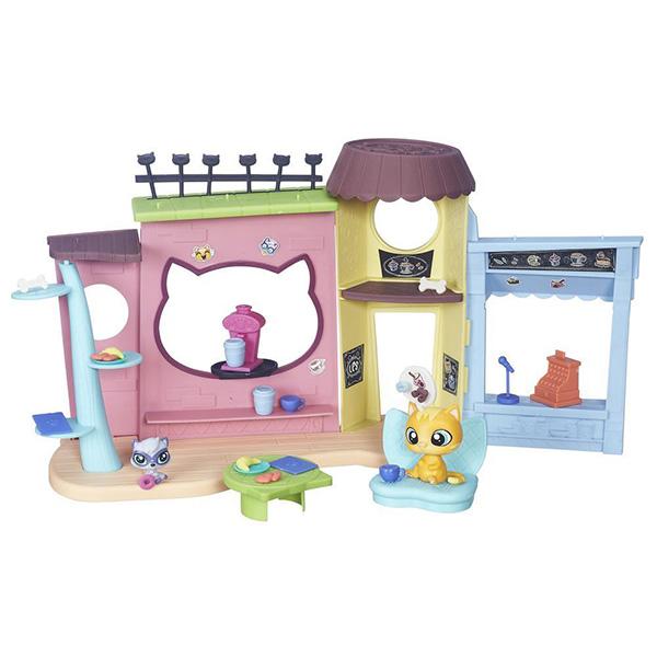 """Hasbro Littlest Pet Shop B5479_9 Литлс Пет Шоп Игровой набор """"Кафе"""""""