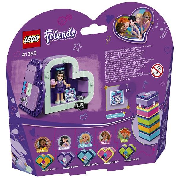 Lego Friends 41355 Конструктор Шкатулка-сердечко Эммы