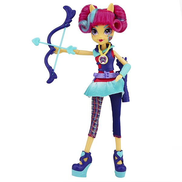 Hasbro My Little Pony B1772 Equestria Girls Кукла спорт Темномолнии (в ассортименте)