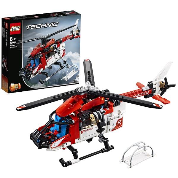 Фото - LEGO Technic 42092 Конструктор ЛЕГО Техник Спасательный вертолёт lego technic 42076 конструктор лего техник корабль на воздушной подушке