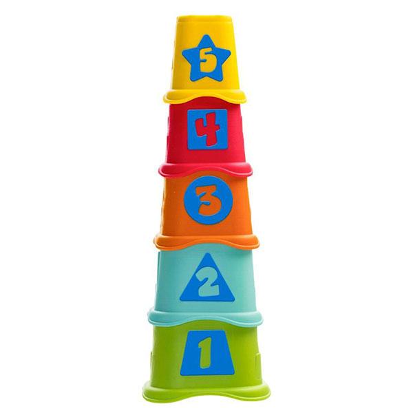 CHICCO TOYS 9373AR Пирамидка Stacking Cups