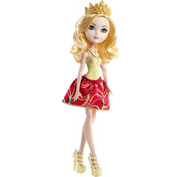 Mattel Ever After High DLB36 Эпл Вайт пеналы mattel пенал 1 отделение узкий mattel ever after high серебр роз наполненный