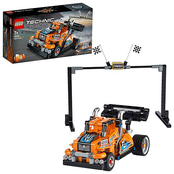лучшая цена LEGO Technic 42104 Конструктор ЛЕГО Техник Гоночный грузовик