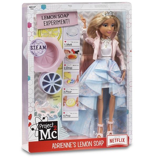 Project MС2 546863 Кукла Делюкс Адрианна с набором для экспериментов