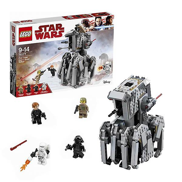 Lego Star Wars 75177 Конструктор Лего Звездные Войны Тяжелый разведывательный шагоход Первого Ордена конструктор lego star wars тяжелый разведывательный шагоход первого ордена 75177 l