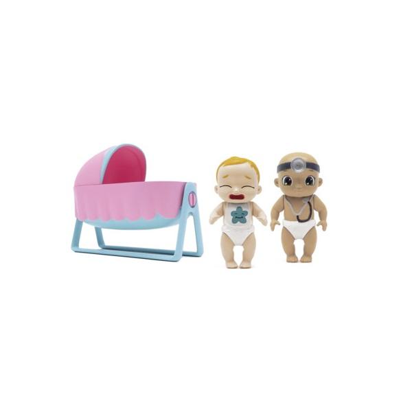 Zapf Creation Baby Secrets 930-168 Бэби Секрет Набор с колыбелью