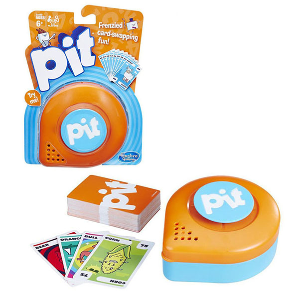 Hasbro Other Games E0890 Настольная карточная игра ПИТ настольная игра gaga games карточная вонгамания gg052