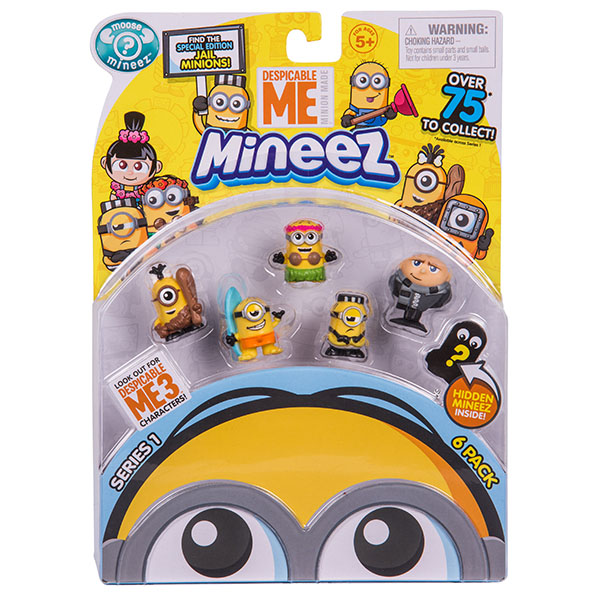 Minions 58203 Набор 6 фигурок