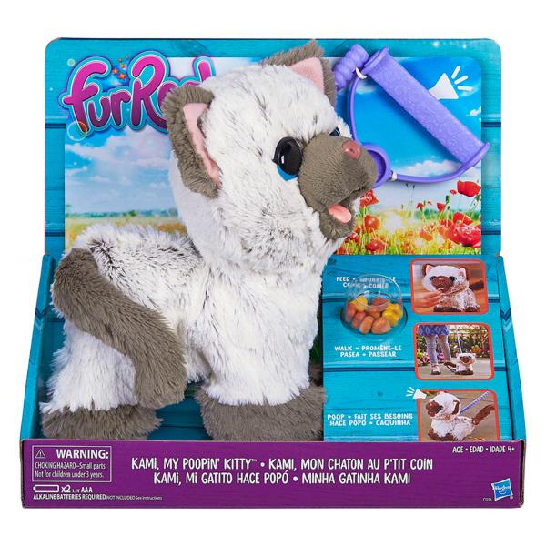 Hasbro Furreal Friends C1156 Забавный котёнок, друг Пакса