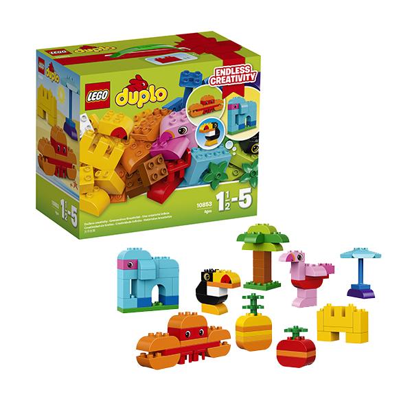 Lego Duplo 10853 Конструктор Лего Дупло Набор деталей для творческого конструирования набор запасных частей lego education lme 1 70 деталей