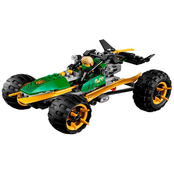 Lego Ninjago 70755 Конструктор Лего Ниндзяго Тропический багги зелёного ниндзя
