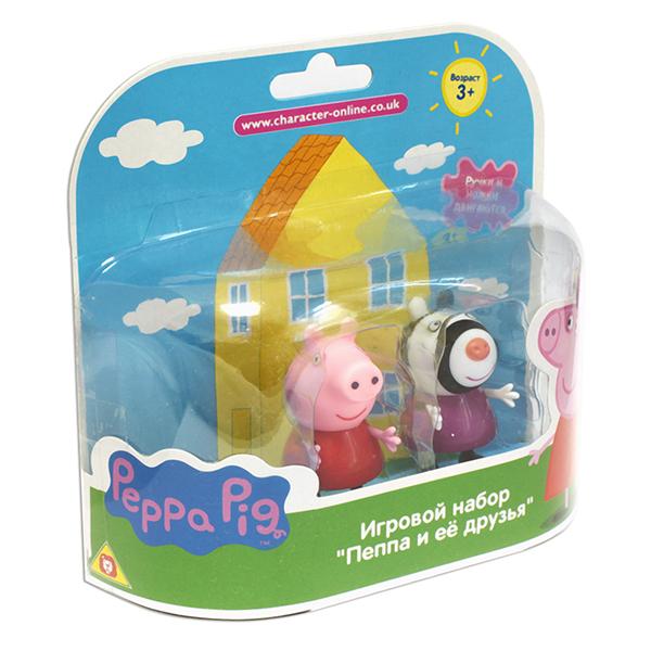"""Peppa Pig 28814 Свинка Пеппа Фигурки """"Пеппа и Зои"""""""