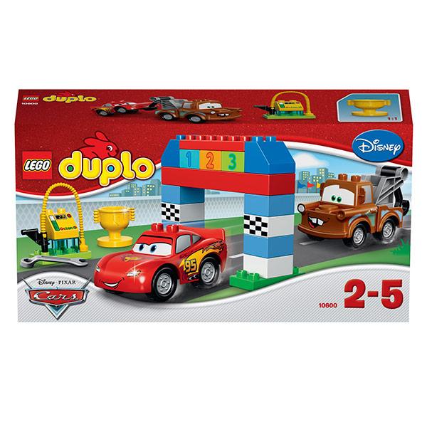 Конструктор Lego Duplo Cars 10600 Лего Дупло Тачки Гонки на тачках